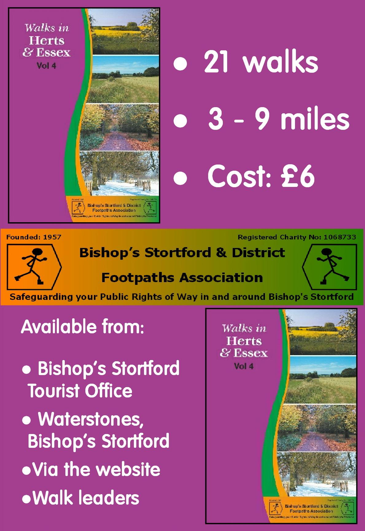 Walks Booklet advert