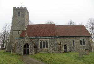 All Saints church, Rickling